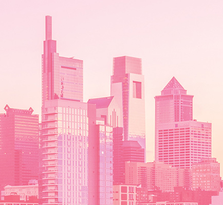 费城的天际线