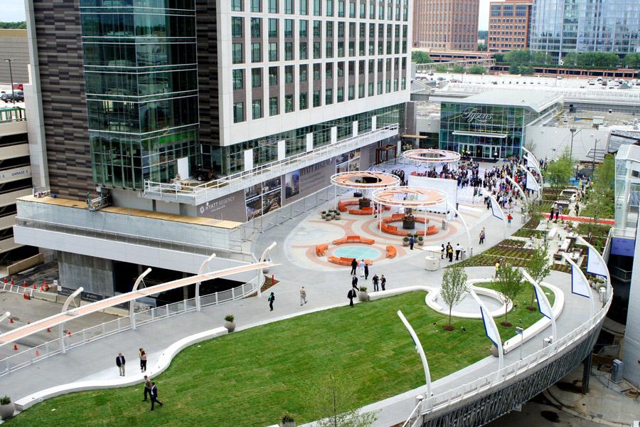 Urban Landscape Design Walkways Water Features