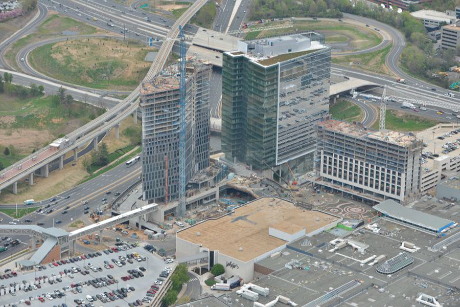 Tysons Corner Center Work Tysons Tower