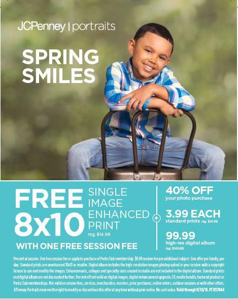 Arden Fair | Events | JCPenney Portrait Studio - Spring Smiles