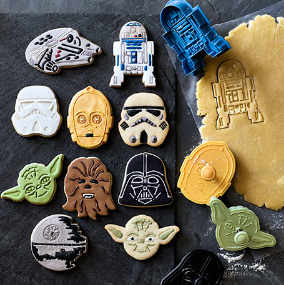 Williams Sonoma Star Wars cookies