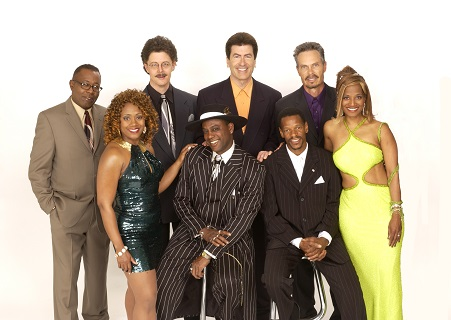 Photo of music group Pride & Joy - Six men and two women.