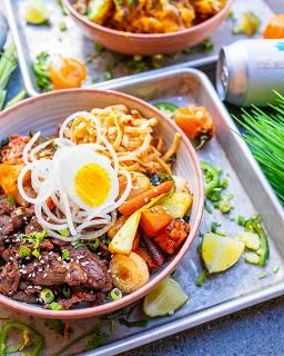 Korean Bulgogi Beef Rice Bowl