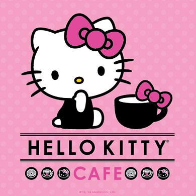 The Hello Kitty Cafe Comes to Broadway Plaza