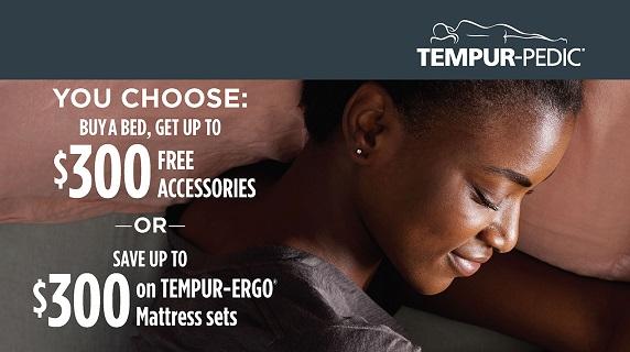 Tempur-Pedic You Choose Event