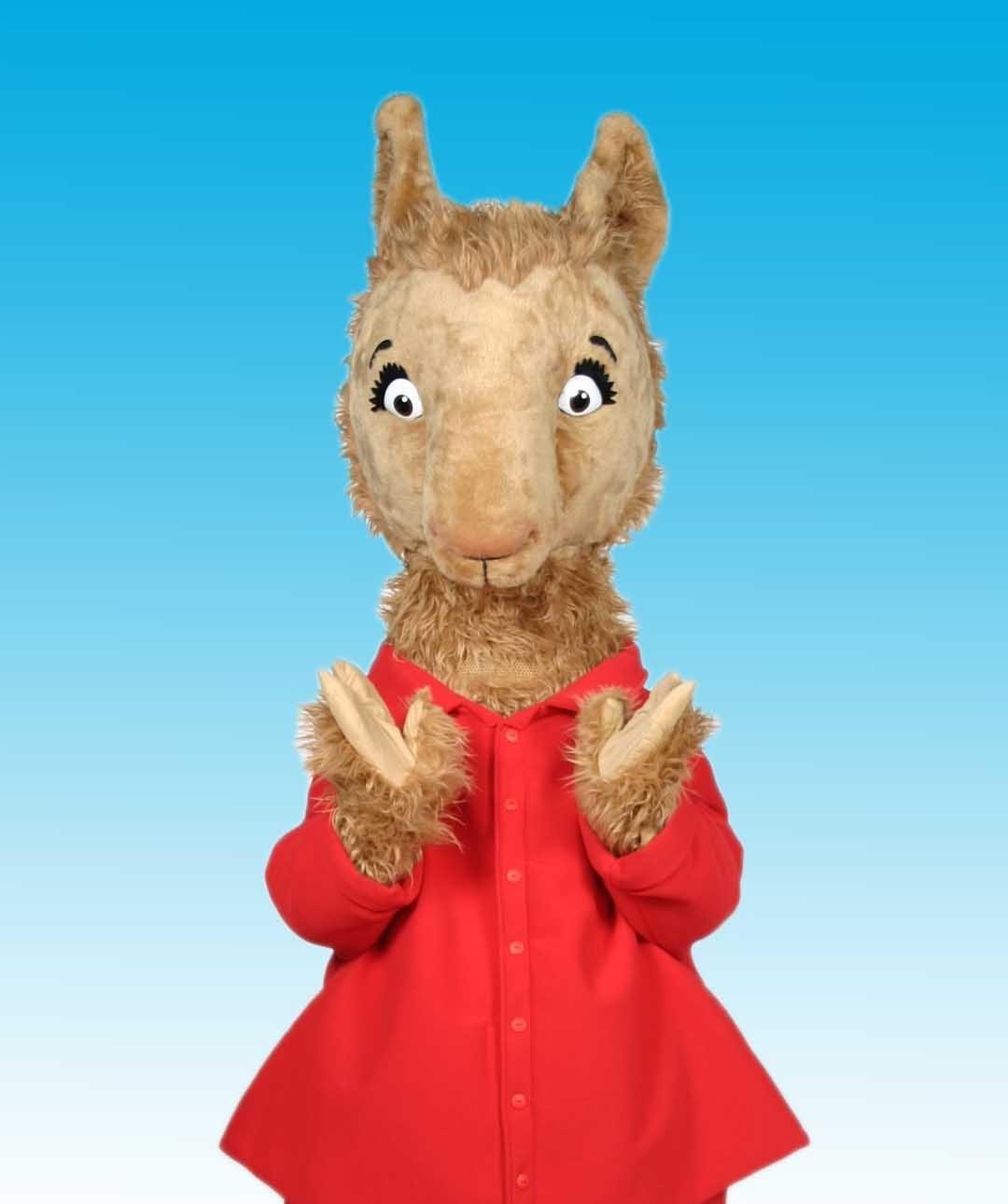 Llama Llama in red pajamas
