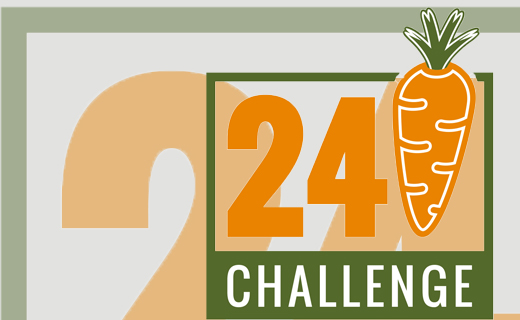 24 Carrot Challenge to benefit The Tri-State Food Bank
