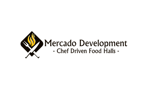 Knife and fork, Mercado Development, Chef Driven Food Halls