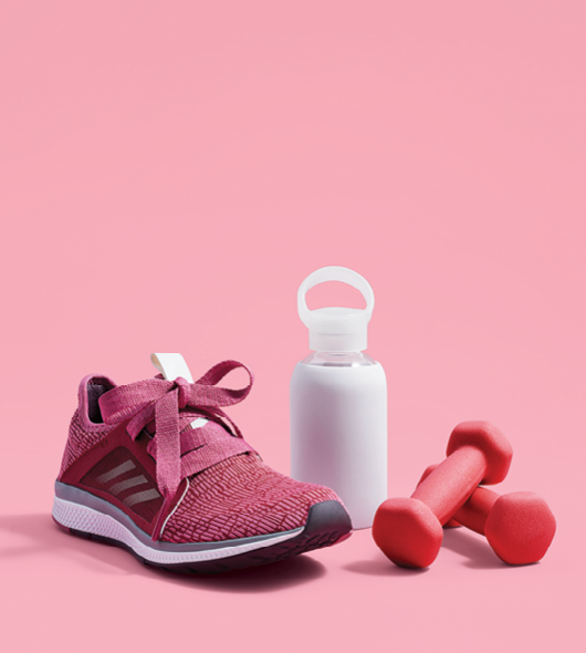 shoes and weights