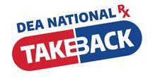DEA NATION RX TAKE BACK OF DRUGS