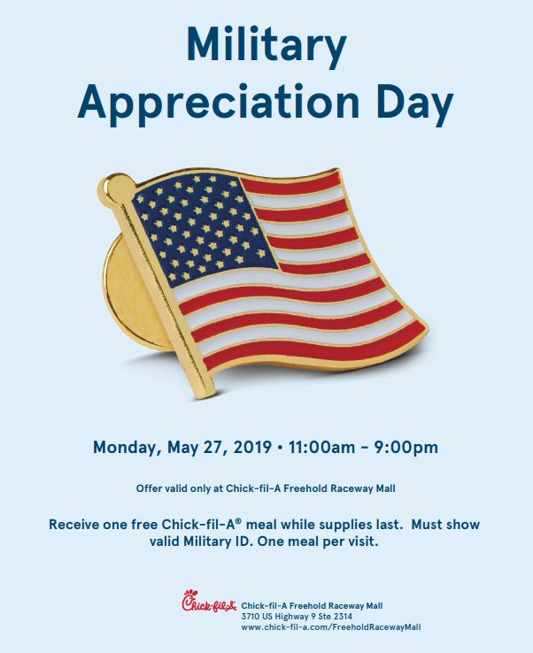 Military Appreciate Event