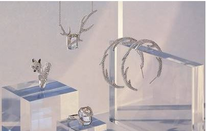 winter frosted jewels from swarovski