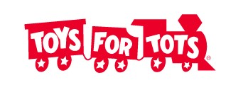 Toys for tots at Freehold Raceway Mall.