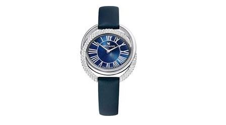 new duo collection watch from swarovski