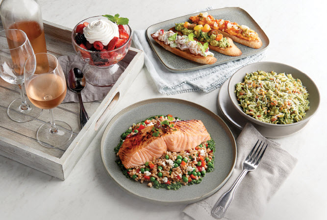 Morton's Summer Showcase Meal Selections
