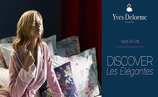 Yves Delorme Fall- Winter Launch - Discover Les Elegantes