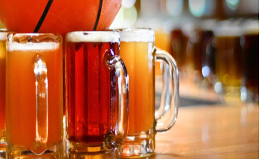 $2 off beer during college basketball tournament games