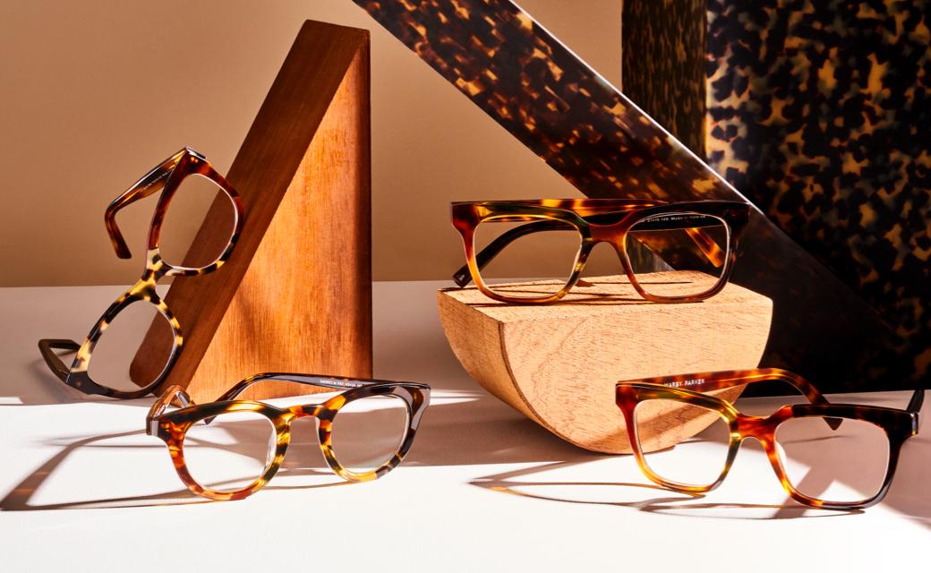 display of multiple glasses