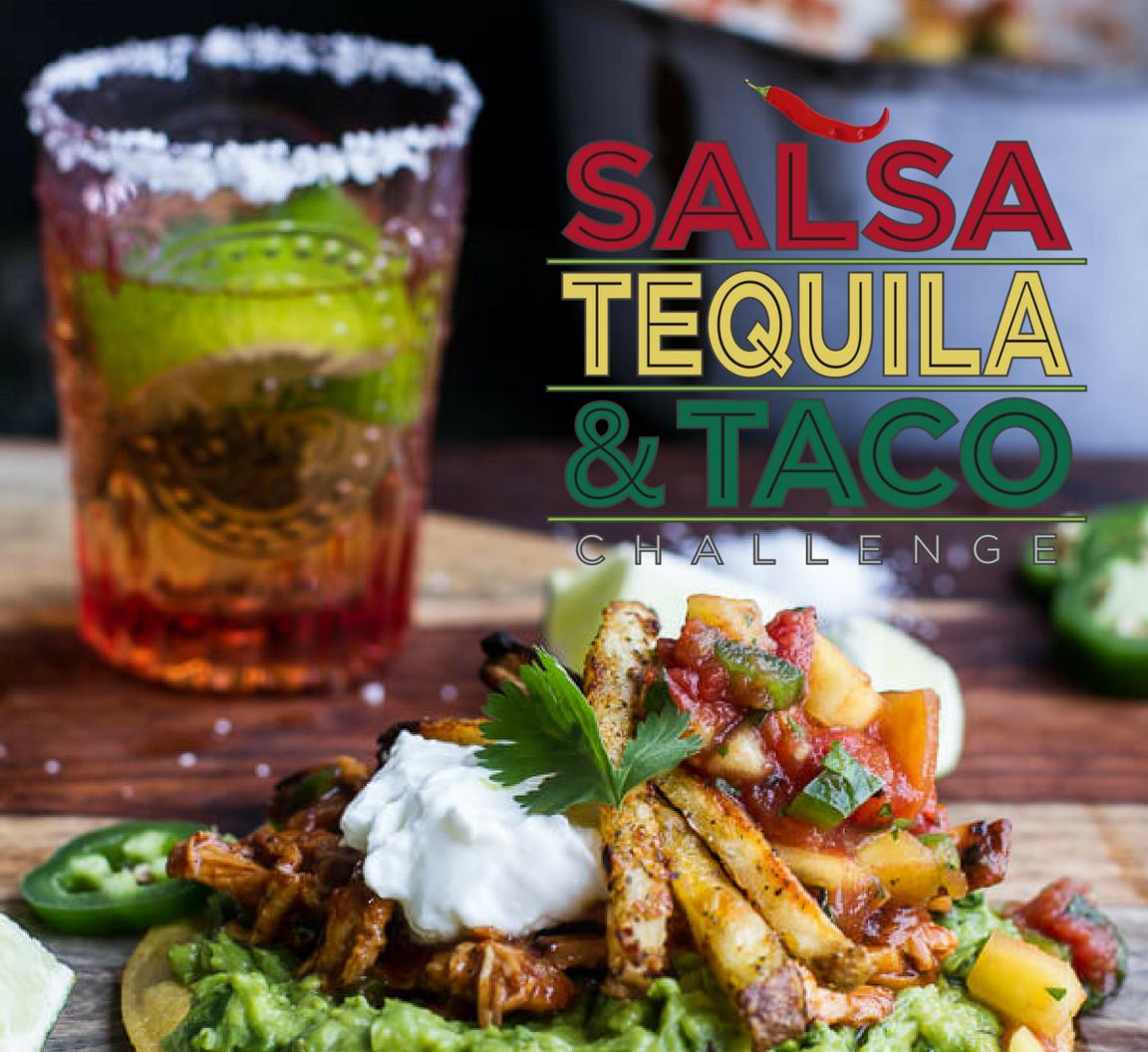 tequila, salsa, taco event