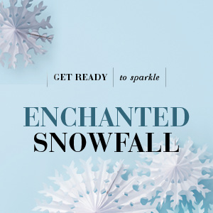 Enchanted Snowfall image with snowflakes