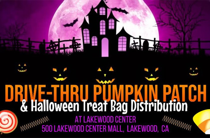 Drive-thru Pumpkin Patch & Treat Bag Distribution
