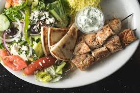 George's  Greek food plate