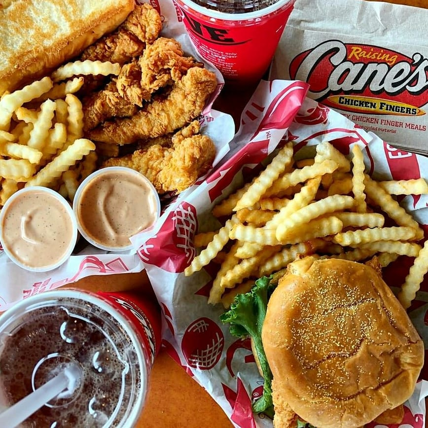 Raising Canes meal