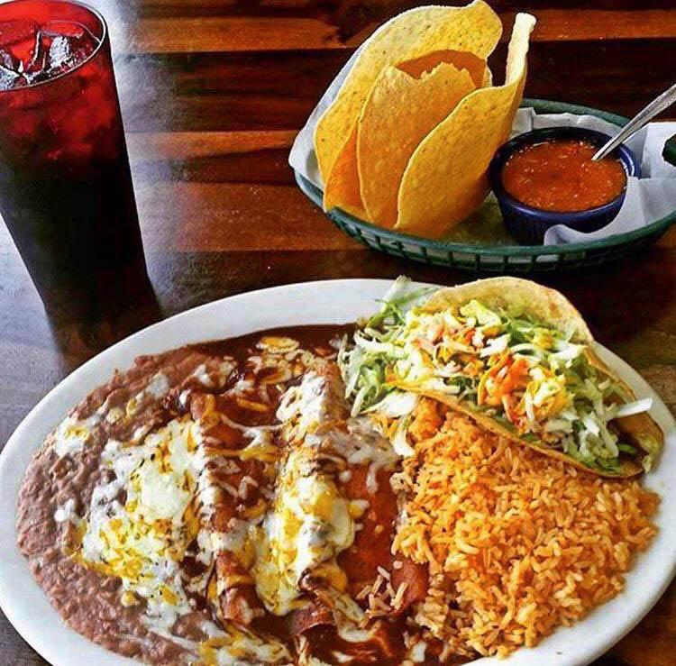 Super Mex enchilada dinner