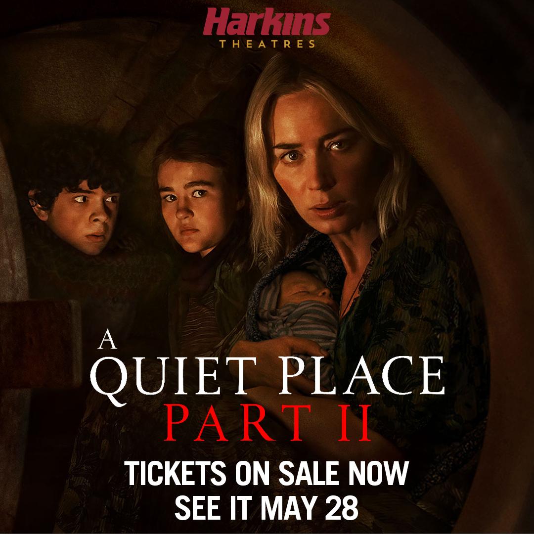 A quiet place part 2 movie flyer