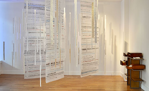 photo of the memory project installation