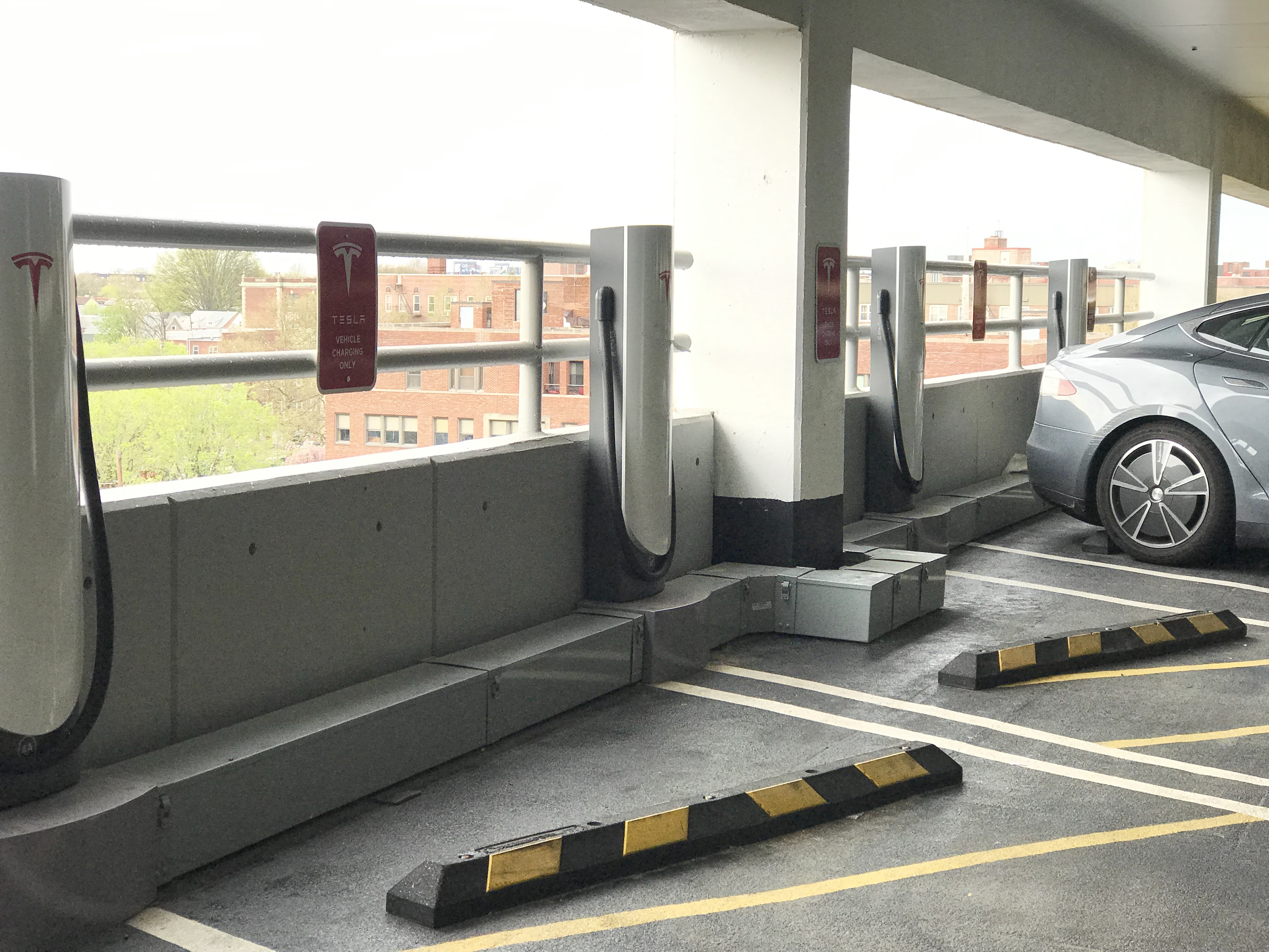 Tesla Charging Stations.