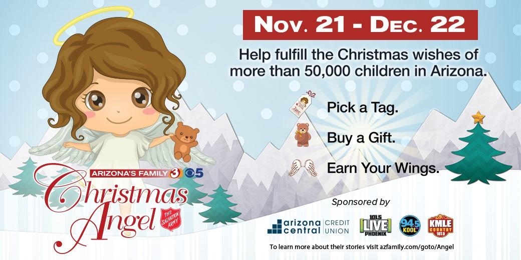 Christmas Angel Flyer