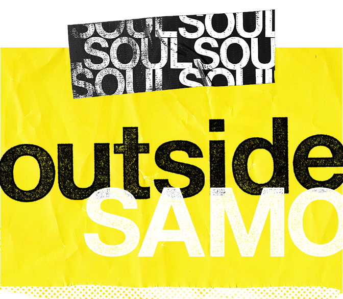 SoulOutside SaMo logo yellow and black