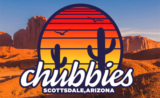 Chubbies is Now Open in Scottsdale, Arizona