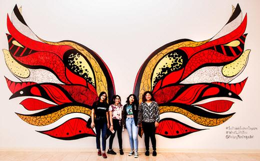 Kelsey Montague Phoenix Rising Wings