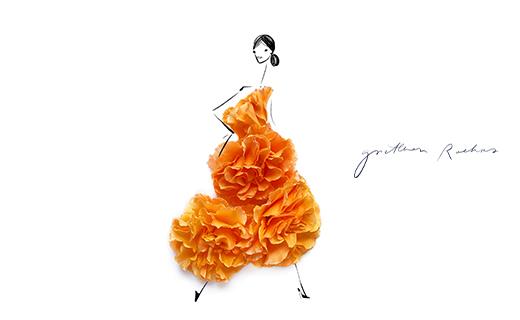 A Fashion A'Fare in Full Bloom
