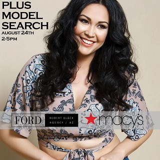 Plus Model Search, Saturday August 24th from 2PM-5PM