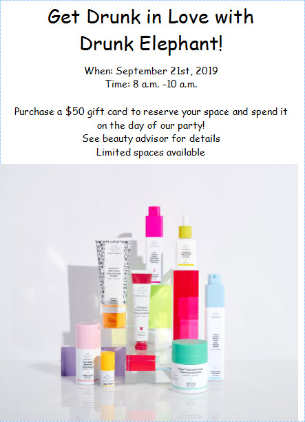 Image contains Drunk Elephant products such as jelly cleanser, retinol cream, night serum, facial oil, facial lissant, lippe balm, polypeptide cream and hydration serum