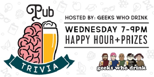 Pub Trivia - Hosted by: Geeks Who Drink
