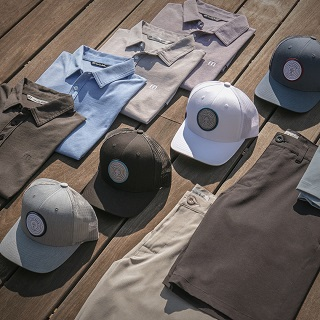 Travis Matthew shirts, hats and shorts