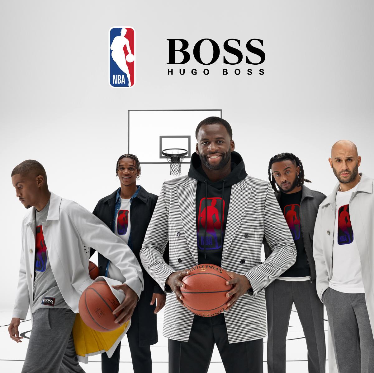 Boss Logo, basketball player