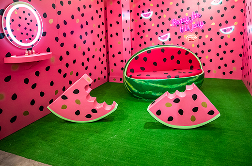 Watermelon themed room, Ready for this Jelly