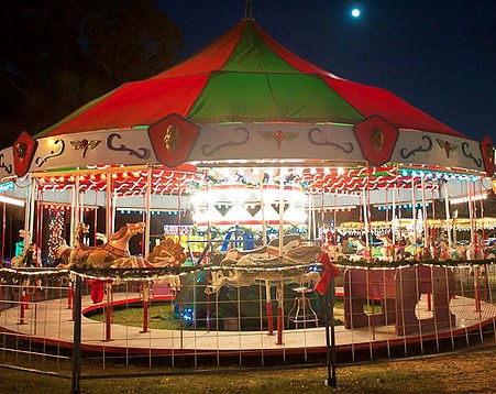 Picture of a carousel