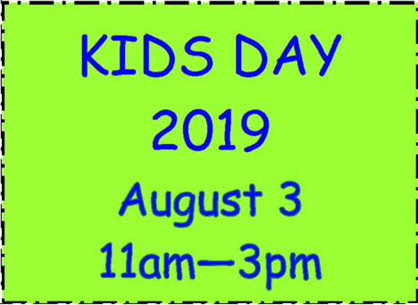 Verbiage for kids day event