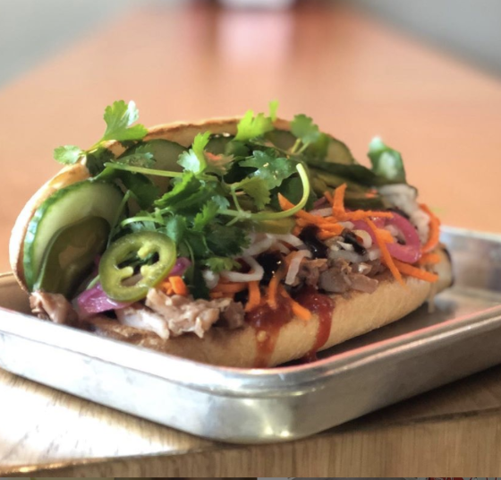 Bahn mi sandwich from Daikon Denver