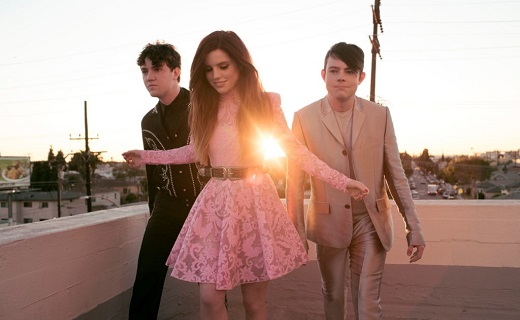 Echosmith on a roof