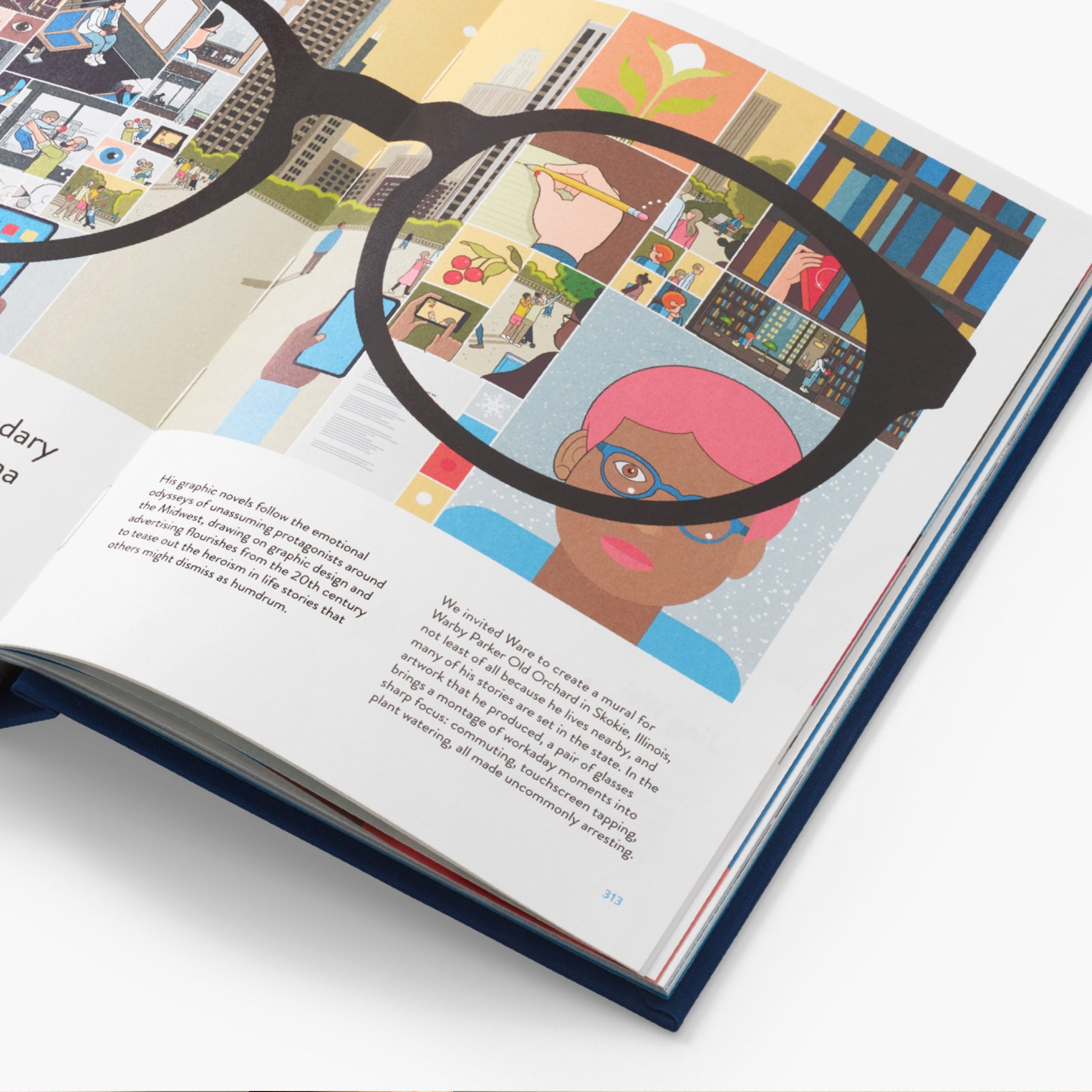 The Alphabet of Art Warby Parker book