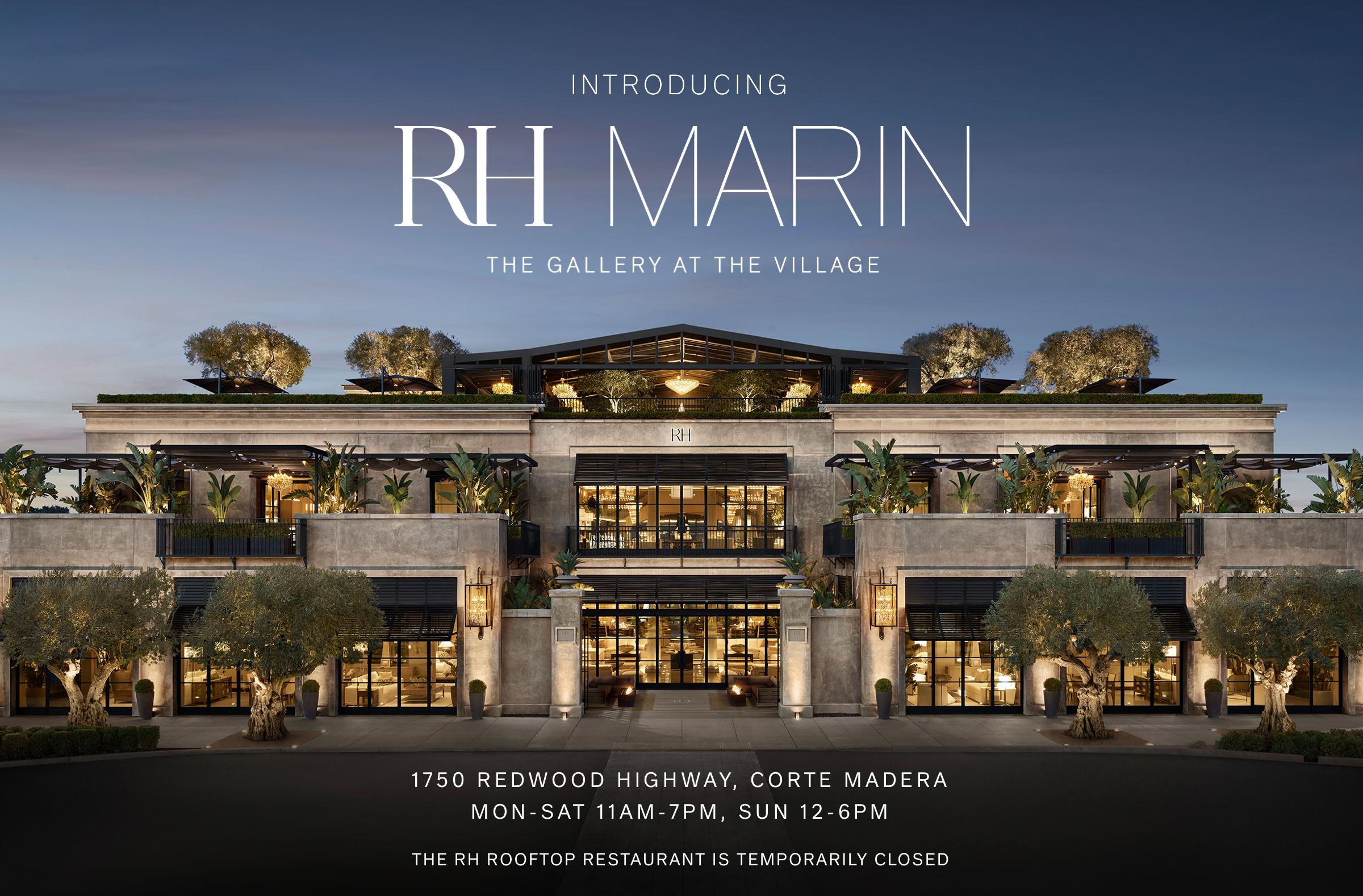 RH MARIN gallery at The Village