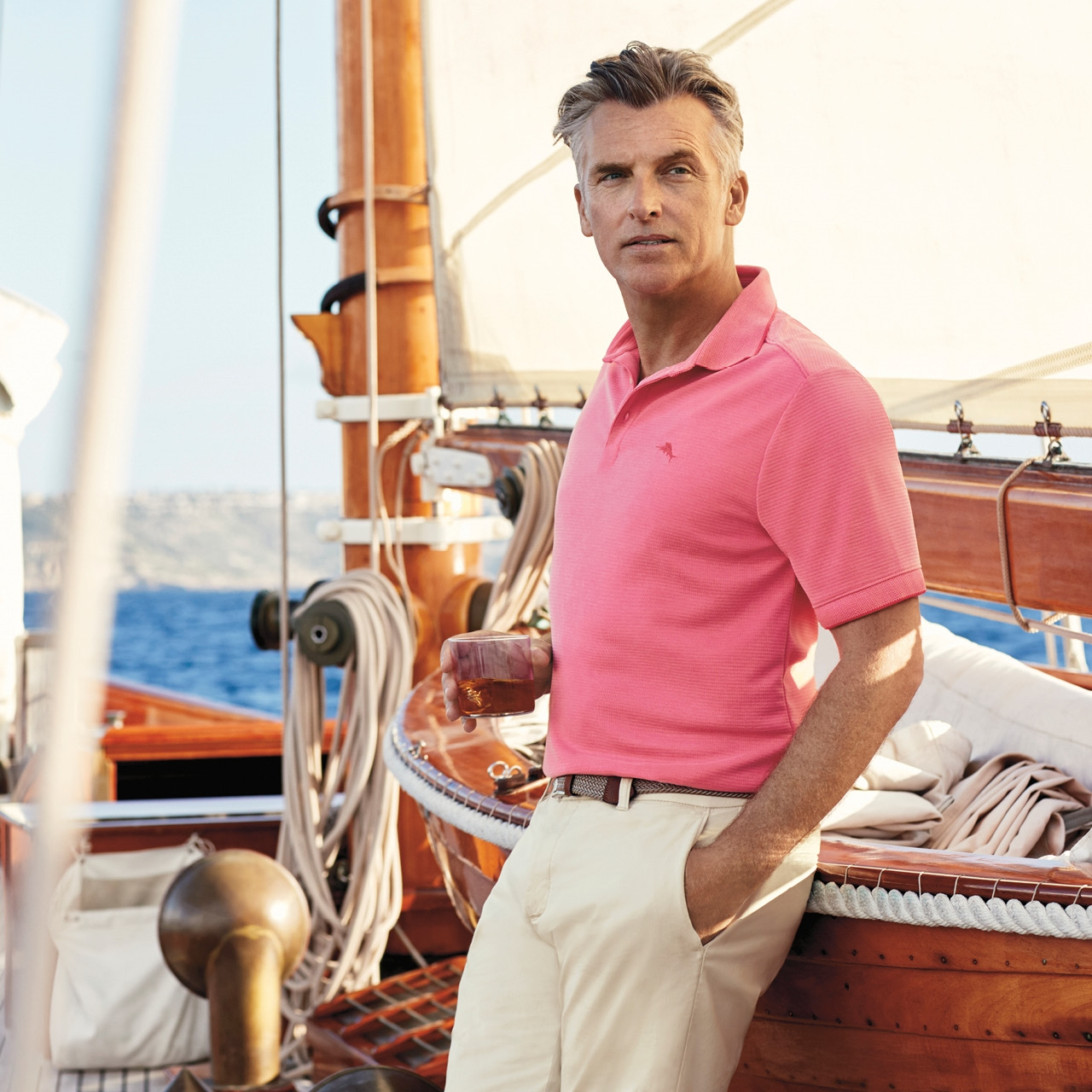 Image of man wearing Tommy Bahama apparel