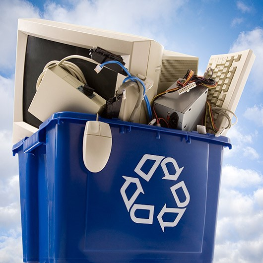 E-Waste collection bin